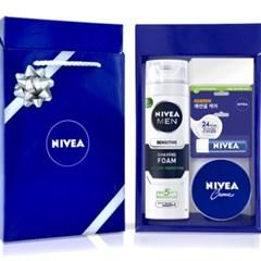 니베아 생일선물 커플선물 남자친구선물 3종 세트