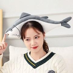 큐티 머리띠 [물고기] 그레이_(12176778)