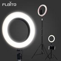 플라이토 LED 개인방송 촬영조명 링라이트 거치대 삼각대