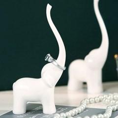 [반짝조명] 아기 코끼리 링 홀더(반지 걸이)