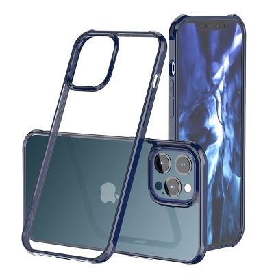 하이브리드 유광 범퍼 투명 아이폰12 프로 맥스 미니 케이스