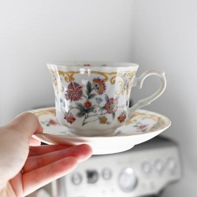 클래식 노바루 커피잔 잔받침 세트_(1774121)