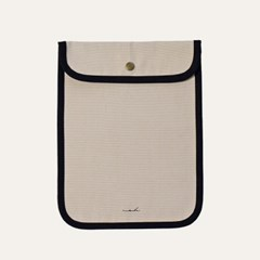 [solid] Signature tablet pouch - beige