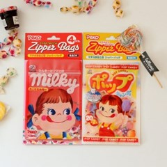(일본) 페코 지퍼백 4P set (2design)