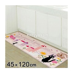 고양이 지지 PVC 롱 매트 120cm (꽃의 거리)