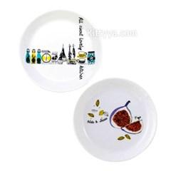 슈가랜드 러블리 팬트리 접시 M (2design)