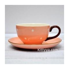 이자와 슈슈 컵 & 소서 (핑크)