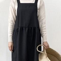 블랙멜빵 루즈앞치마_(3076123)