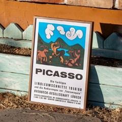 Picasso 피카소 명화 포스터 베엔하우스