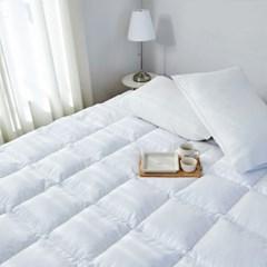 [10x10기획] 헝가리 구스 침대 토퍼 싱글(S)