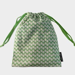 80 green string pouch m