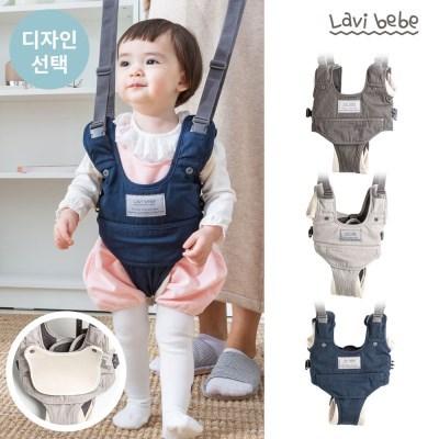 라비베베 걸음마 보조기 아기 보행기(전용 턱받이 포함)