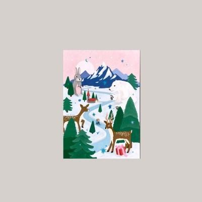 엽서_하얀 밤에 Postcard_White Night