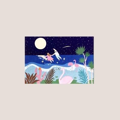 엽서_야간비행 Postcard_Midnight Flying