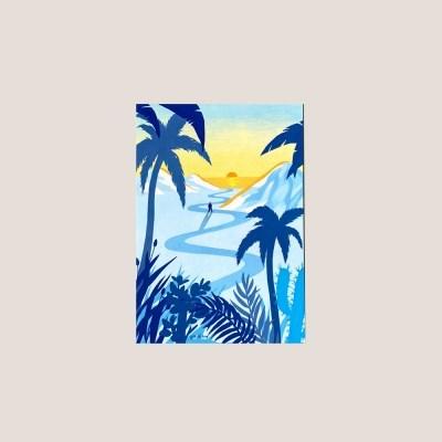 엽서_여름밤으로 Postcard_To Summer Night