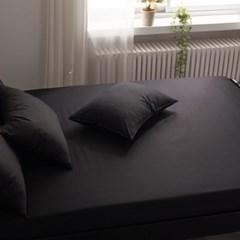 블럭 순면 홑겹 침대 매트리스 커버 SS
