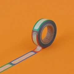 follow one after another masking tape