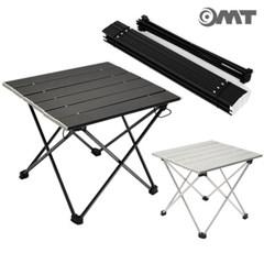 휴대용 접이식 알루미늄 폴딩 롤 테이블 캠핑선반 400*350 소형