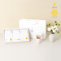 [꿀마실] 천연벌꿀 스틱 3종 선물세트 12gx30포 + 쇼핑백