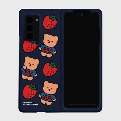 Strawberry bear-navy(Z폴드2-하드)_(1718669)