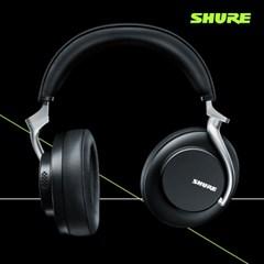 [SHURE] AONIC 50 무선 노이즈 캔슬링 헤드폰 (블랙/브라운)