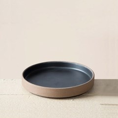 순수화 일자 찬기(블랙)(15cm)