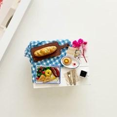 브런치 세트 미니어처 음식 만들기 DIY 풀키트 미니셰프 컬렉션