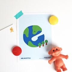 [KEERI x BFMA] EVERYTHING 엽서 - EARTH