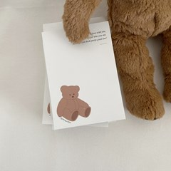 Memopad - Teddybear