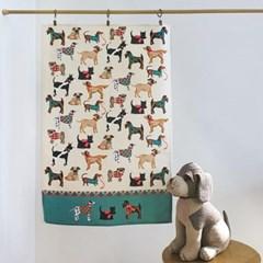 하운드도그 강아지 패브릭 포스터 / 가리개