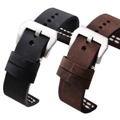 피닉스 시계줄 소가죽 G678 가죽밴드(22mm)