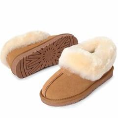 kami et muse Rich fur trimming shoes_KM20w276