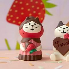 데꼴 2021 발렌타인 초코망토고양이