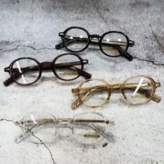 뿔테 도수없는 가벼운 블랙 투명 대두 투명 패션 안경