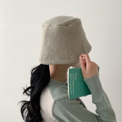 베이지 차콜 깊은 버킷햇 꾸안꾸 패션 벙거지 모자