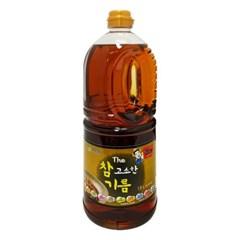 CJG001-4 더 참 고소한기름1.8L (참깨향미유28.6%)