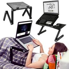OMT 내맘대로 3단관절 각도조절 접이식 소파 침대 노트북 거치대