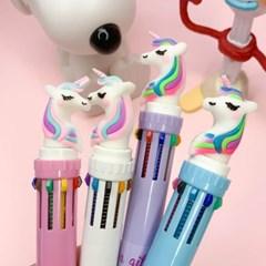 [맙소사잡화점] 유니콘 10색 볼펜