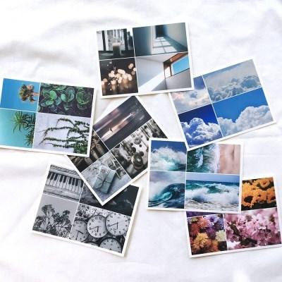 [비칼선] 감성 사진 스티커 세트