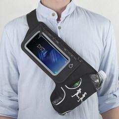 OMT 물통 휴대폰 수납가능 스포츠 힙색 허리가방 방수재질 암밴드