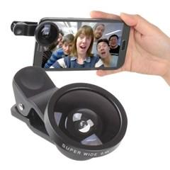 OMT 와이드 0.4x배줌 휴대용 셀카렌즈 35mm 대구경