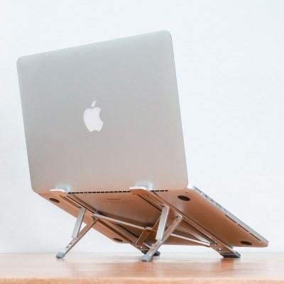 하이퍼 노트북 거치대 받침대 스탠드 5단계 각도조절