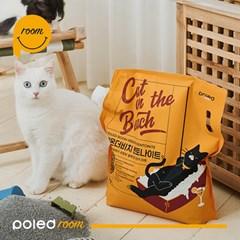 폴레드룸 캣온더비치 벤토나이트 고양이모래