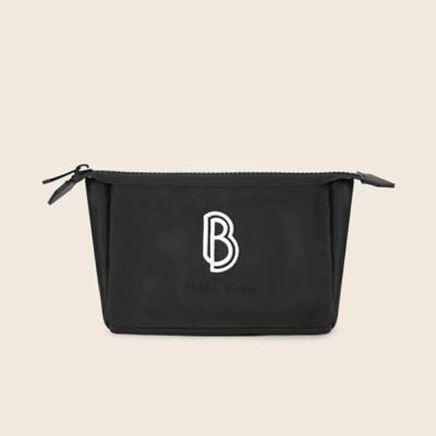 블랑블랙 BB 세모 파우치 L [블랙] P307BKL