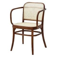 라쿤 라탄방석 팔걸이 의자[SH003118]