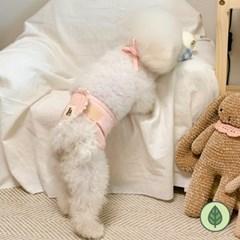 개달당 강아지 프릴 오가닉 매너벨트 수컷강아지 마킹방지