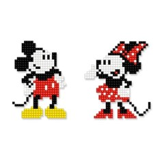 디즈니 DIY 미키마우스 보석십자수 스티커형 아이러브페인팅