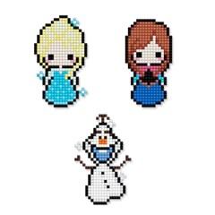 디즈니 DIY 겨울왕국 보석십자수 스티커형 아이러브페인팅