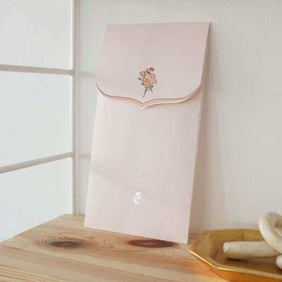 020-ME-0045 / 꽃단아 축하봉투 (핑크)