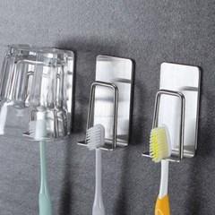 인블룸 접착식 컵홀더 칫솔 걸이 4P세트_(3080330)